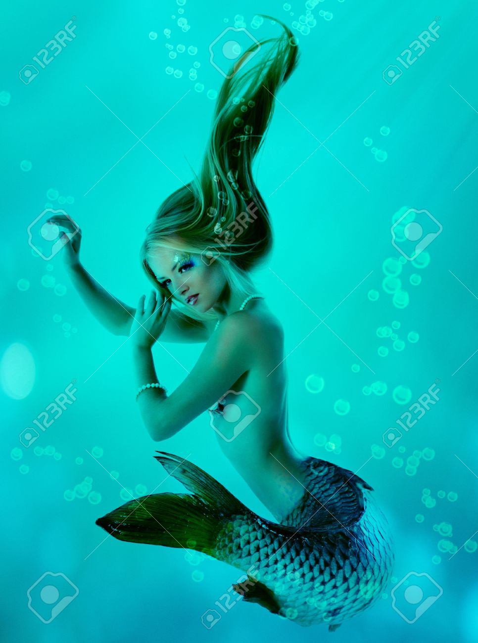 Mermaid Beautiful Magic Underwater Mythology Stock Photo  Picture     mermaid beautiful magic underwater mythology Stock Photo   13205280
