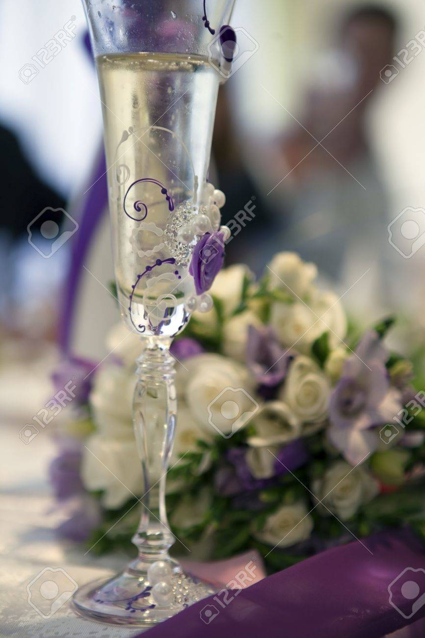 how to decorate wine glasses for wedding wedding wine glasses How To Decorate Wine Glasses For Wedding