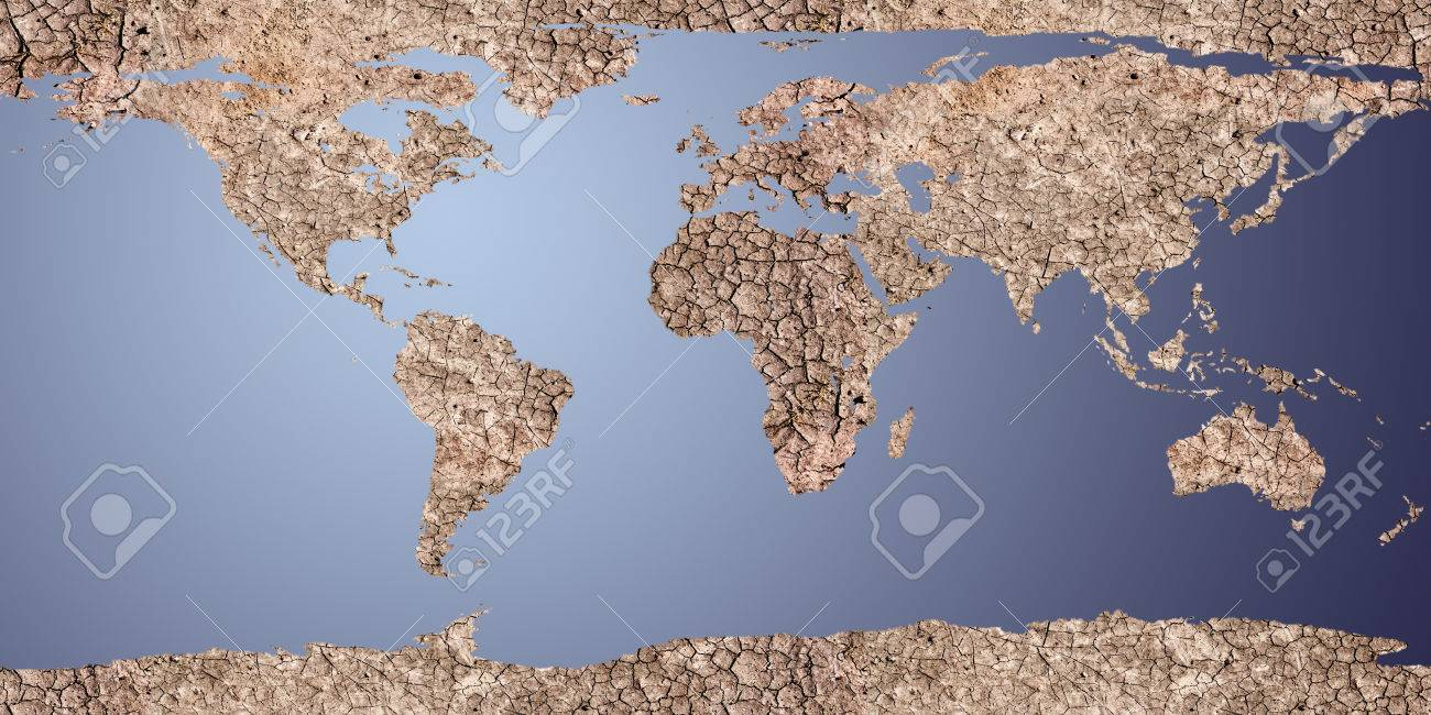 Dry Earth Displayed As A 2d Map  For Map Used Open Source Http     dry earth displayed as a 2d map  For map used open source http