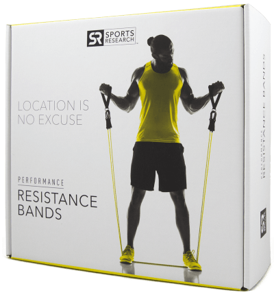 Sports Research Resistance Bands - New - Primo Fitness
