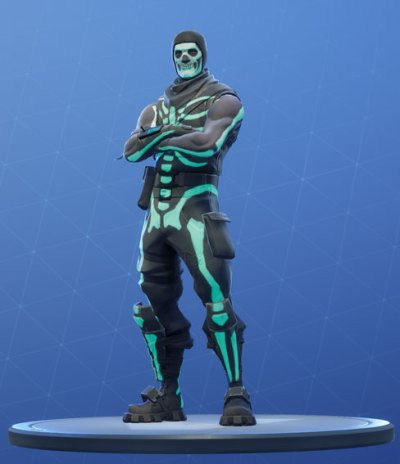 Fortnite Skull Trooper Skin - Outfit, PNGs, Images - Pro Game Guides