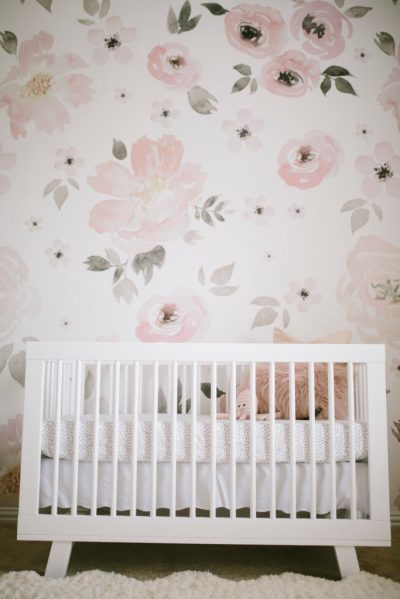 Harper's Floral Whimsy Nursery - Project Nursery