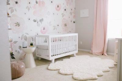 Wallpaper in the Nursery - Project Nursery