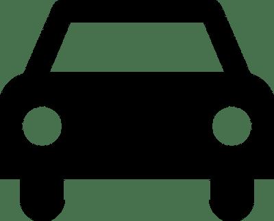 Sinal de carro   Vectores de Domínio Público