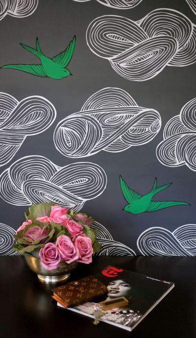 When Art and Wallpaper Collide   Puddingstone Post