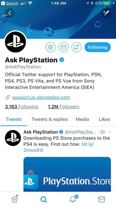 Is there a PlayStation support email address to contact Sony? - Quora