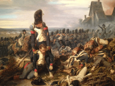 Where did Napoleon get his Old Guards in the Battle of Waterloo? - Quora