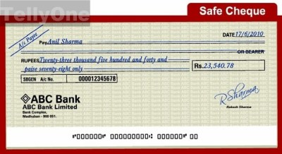 Can one cash a check found lying somewhere? - Quora