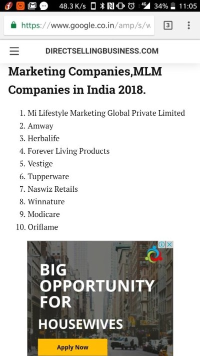 Who is the number one MLM company in India, and why? - Quora
