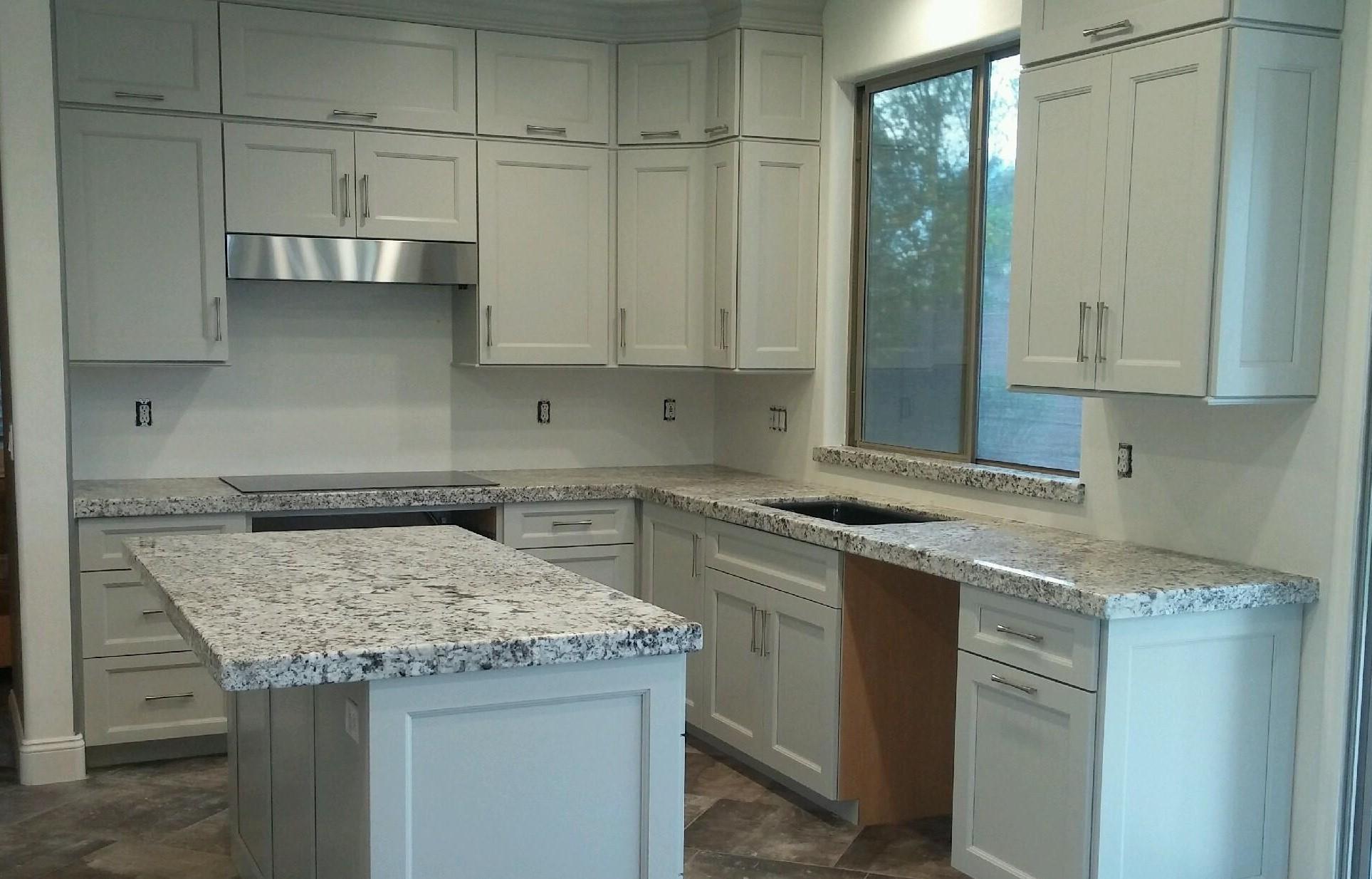 prefab quartz prefab kitchen cabinets Kitchen Cabinets Quartz Countertop Showroom in Scottsdale AZ