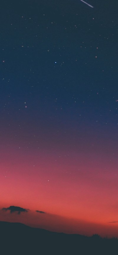 Night Sky Sunset Pink Nature iPhone X Wallpaper Download | iPhone Wallpapers, iPad wallpapers ...