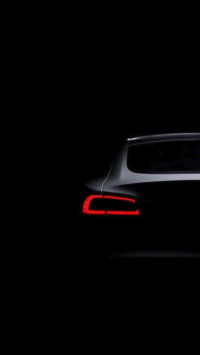Tesla Model S Dark Brake Light iPhone 8 Wallpaper Download | iPhone Wallpapers, iPad wallpapers ...