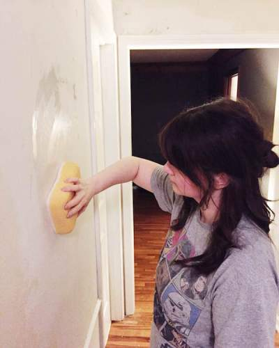 Rachel Schultz: HOW TO PAINT WALLS AFTER REMOVING WALLPAPER