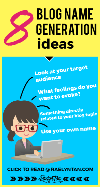 8 Proven Ideas To Generate A Blog Name You Love