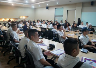 Grade 12 Students at Thammasat University (SIIT) Rangsit On November 20, 2017
