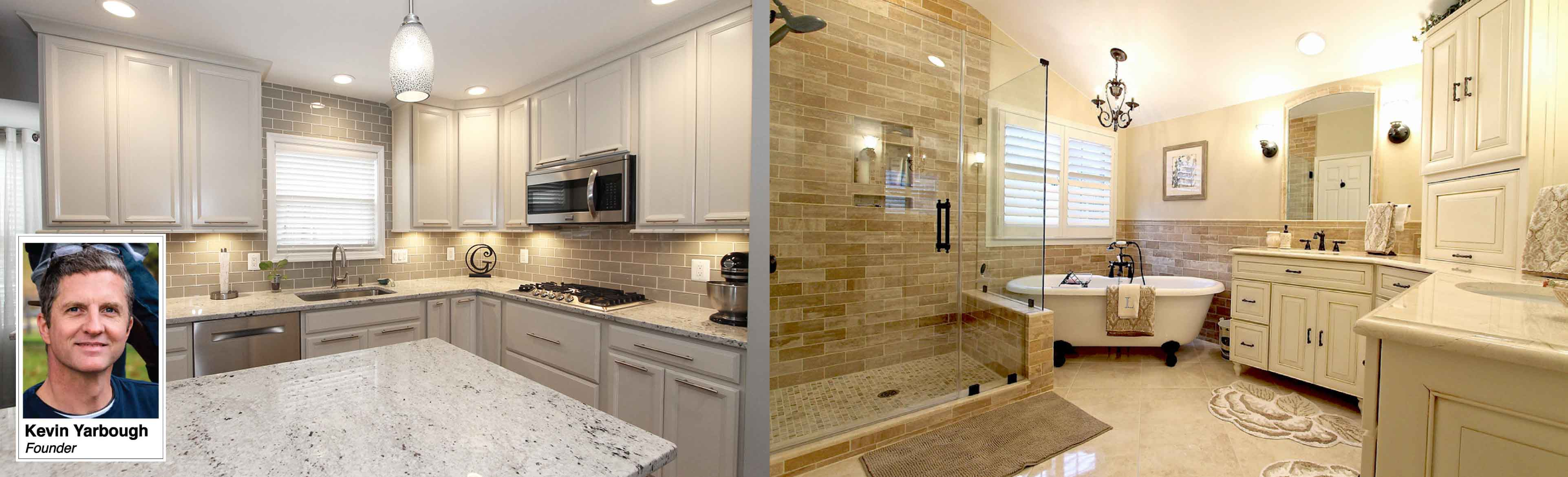 ramcomllc kitchen remodeling manassas va Kitchen remodel with quartz counters glass tile backsplash white cabinets under cabinet lighting