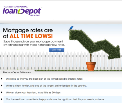 loanDepot.com surfs with new CMO - Ratti Report: Tracking Down Your Next Client