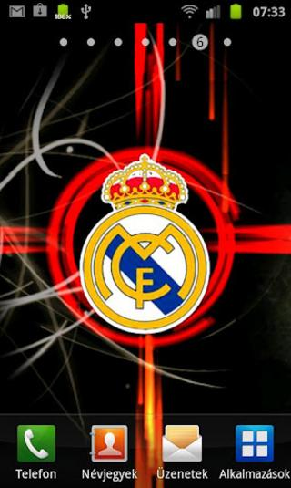Real Madrid Live Wallpaper para Android