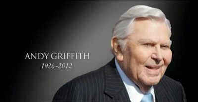 "Andy Griffith ""Sheriff Taylor"" 1926 – 2012Reggie's Take.com"
