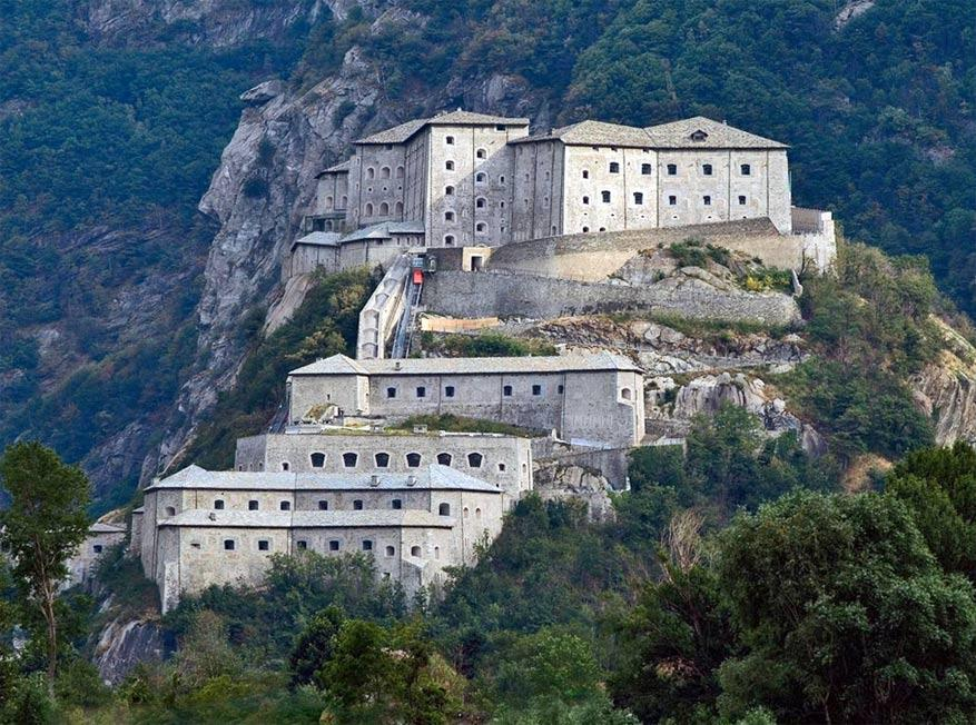 Het fort van Bard. © Visit Aosta via Flickr