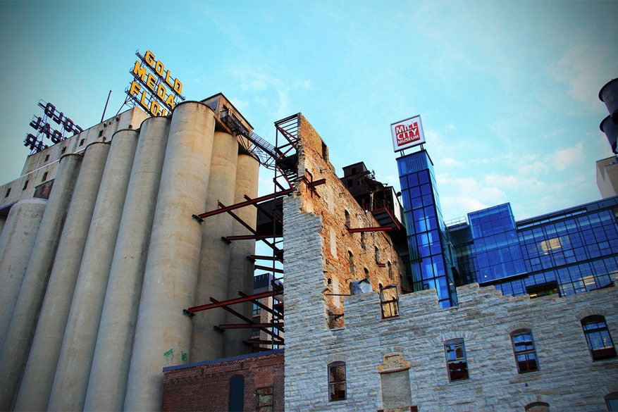 Minneapolis: het Mill City Museum