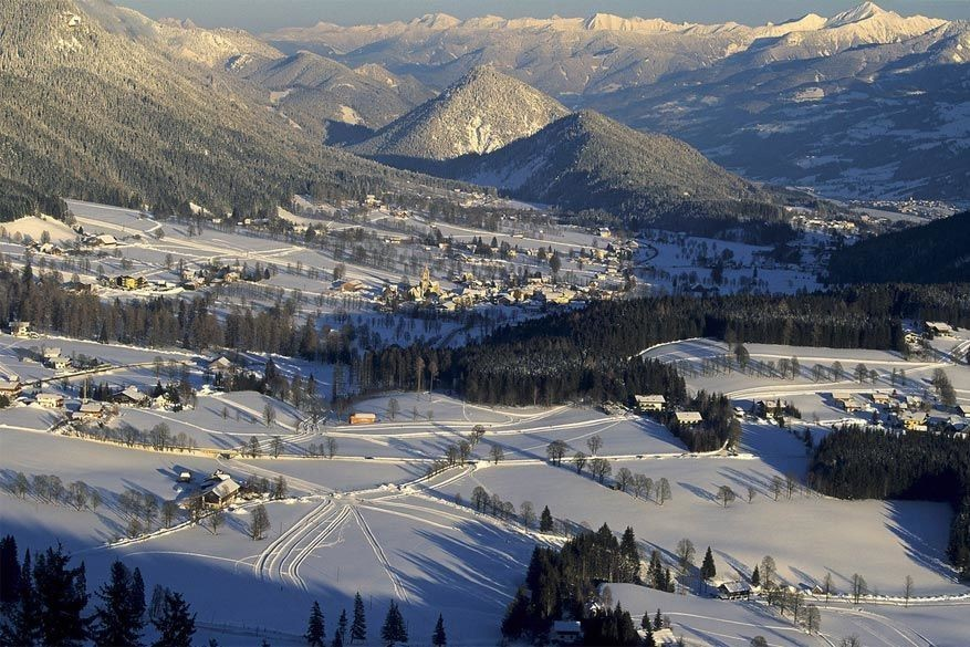 Wintersport voor beginners in Ramsau am Dachstein