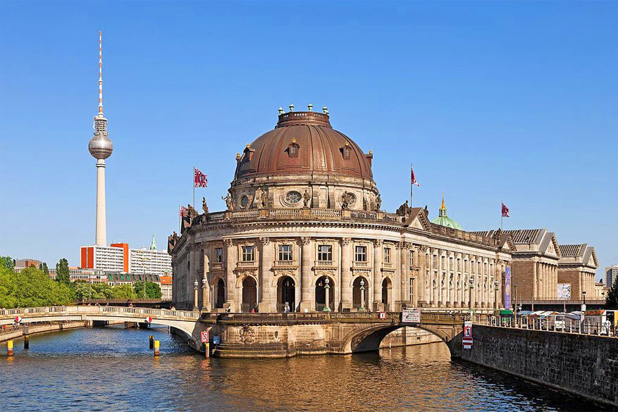 Museumsinsel langs de Spree. © Wikimedia Commons