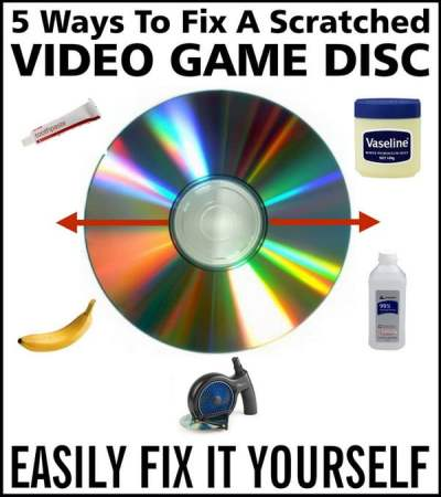 5 Ways To Fix A Scratched Video Game Disc | RemoveandReplace.com