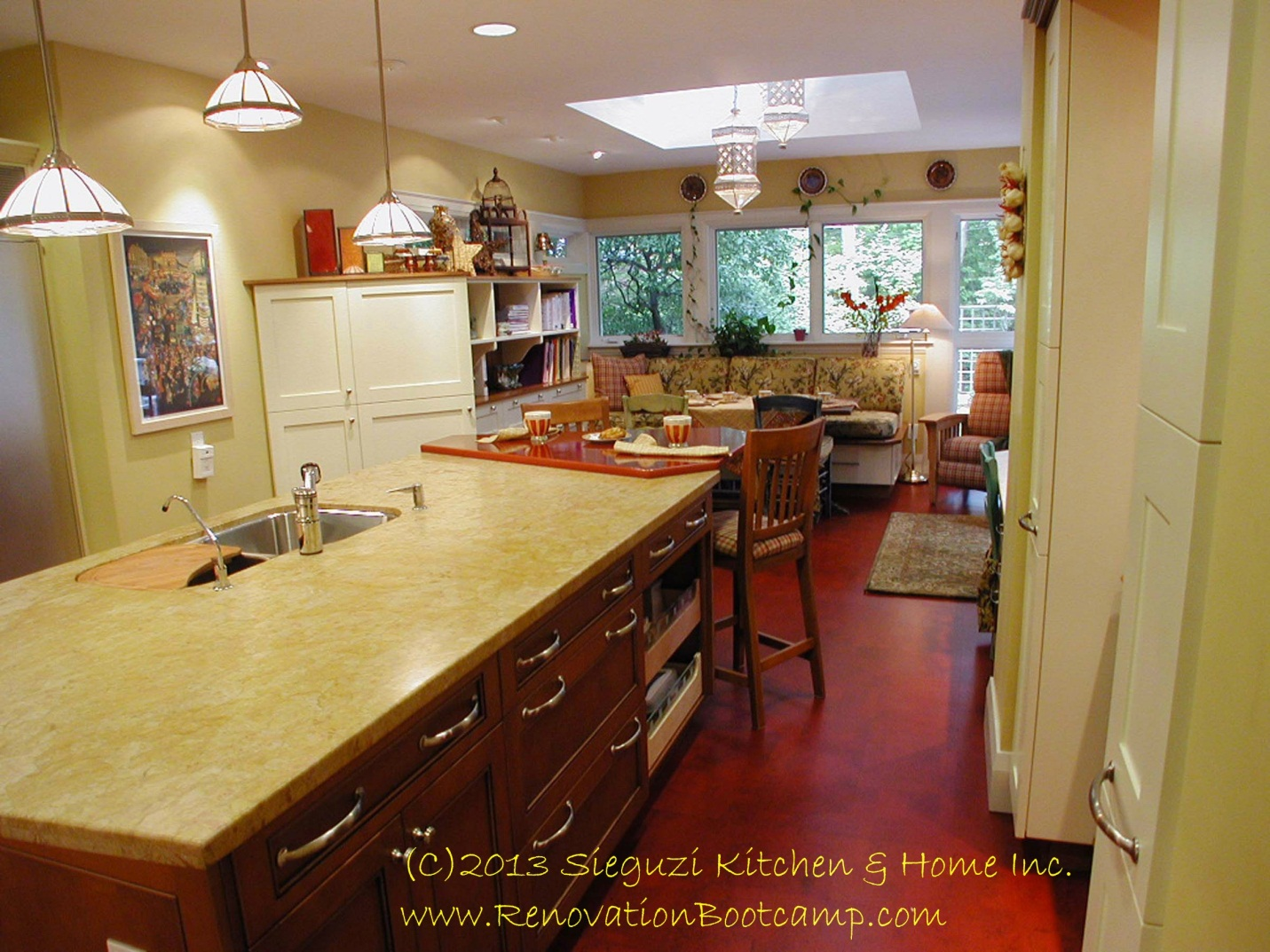 grounded part 4 in the series on residential flooring its a cork walk cork kitchen flooring my kitchen floor