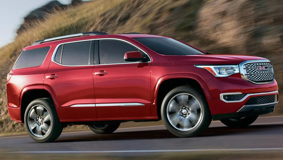 GMC Acadia heading to Australia as a Holden   Car News   CarsGuide The GMC Acadia  2016  will be sold as a Holden Acadia in 2017
