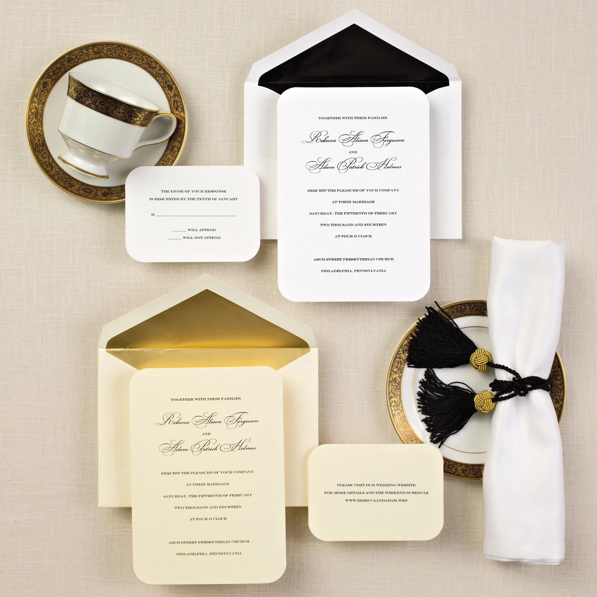 Simple Elegance Wedding Invitation cheap elegant wedding invitations