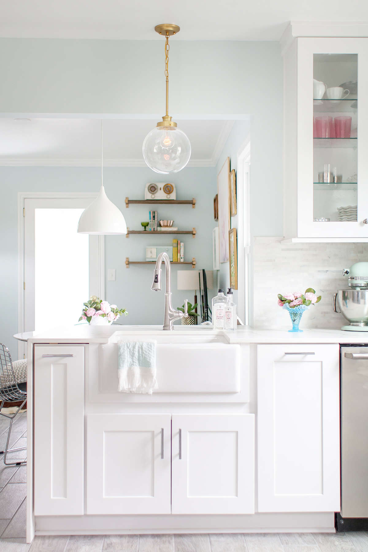 our new kitchen reveal with the home depot home depot kitchen remodel vintage kitchen renovation