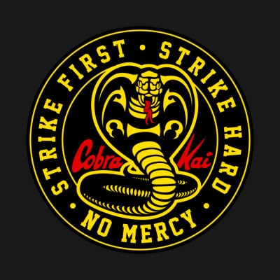 Cobra Kai Never Dies - Cobra Kai - T-Shirt | TeePublic