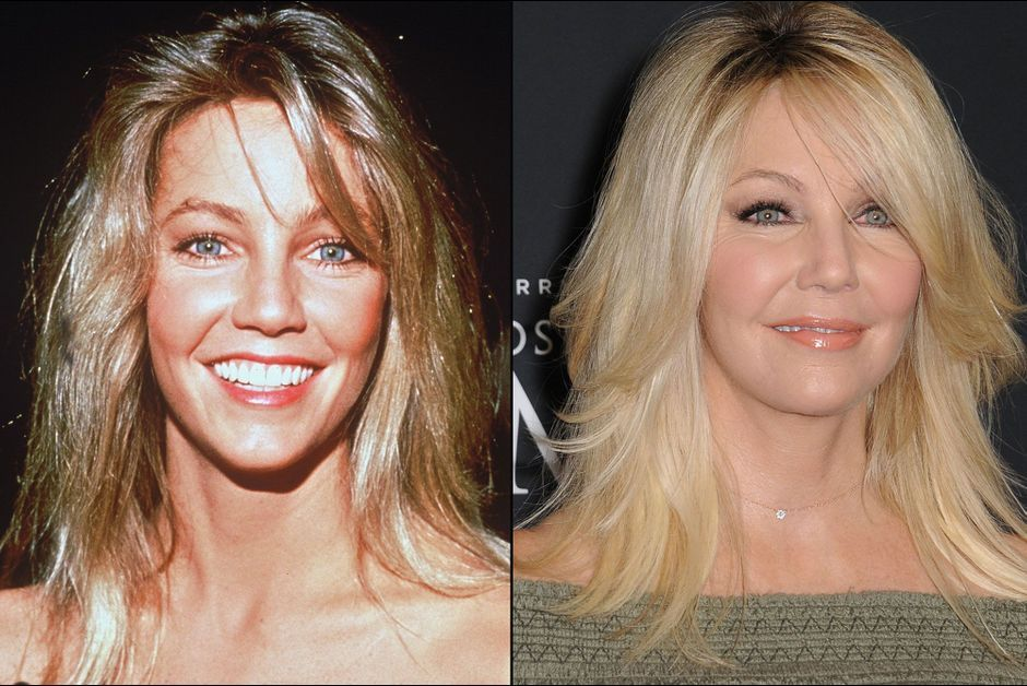 Heather Locklear  l     volution physique de la star de Melrose Place