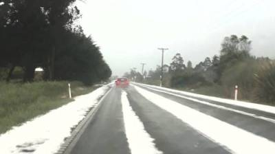 Tornado hits Mid Canterbury, after day of wild weather   Stuff.co.nz