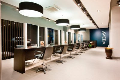 Aveda Lifestyle Salon & Spa flagship by Reis Design, Leeds ...
