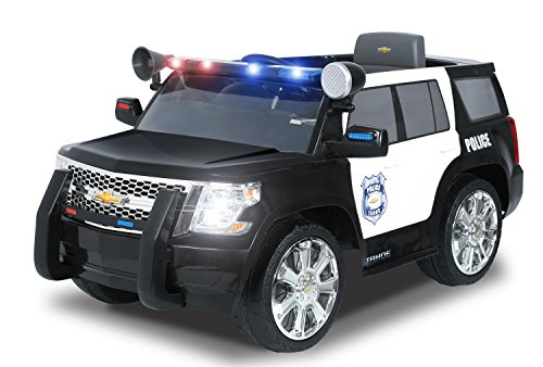 Rollplay Chevy Tahoe 6 Volt Battery Powered Ride On  Police   Ride     Rollplay Chevy Tahoe 6 Volt Battery Powered Ride On  Police