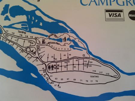 East Alberta Campgrounds