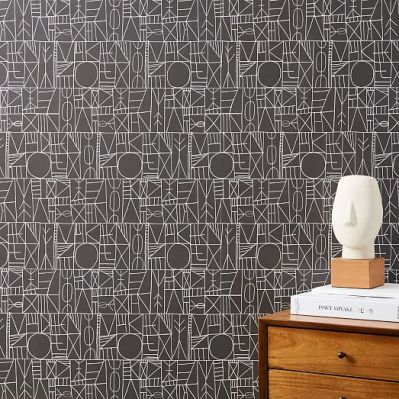 Mid-Century Wallpaper Panels | west elm