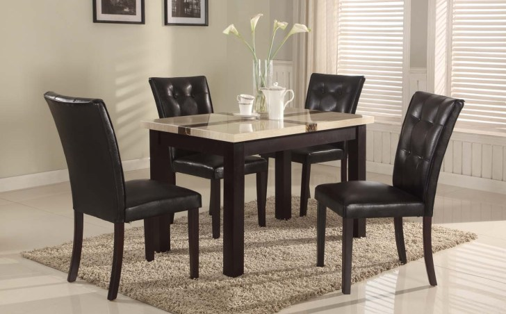 21 marble top kitchen table