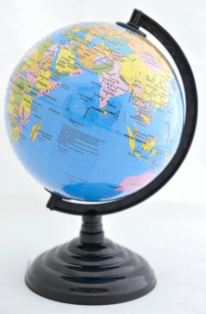 Globes   Buy Globes Online at Best Prices In India   Flipkart com Shrih World Political Map Globe 885 Desk and Table Top Political world Map  World Globe