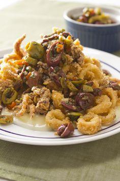 1000+ ideas about Fried Calamari on Pinterest | Calamari, Calamari Recipes and Stuffed Calamari