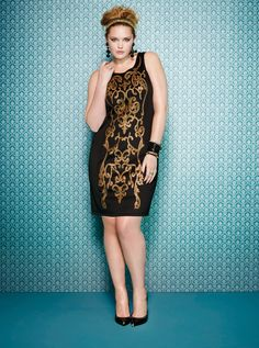 Holiday Lookbook Sneak Peek on Pinterest | Addition Elle, Plus Size Model and Plus Size