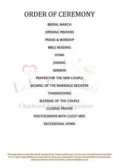 1000+ images about Wedding Planning - 101 on Pinterest ...