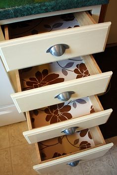 1000+ images about Drawer liners on Pinterest | Drawer liners, Shelf paper and Damask wallpaper