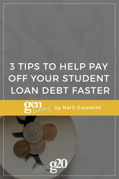 Debt free, Colleges and Student loan debt on Pinterest