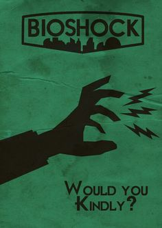 BioShock art design poster Andrew Ryan A man chooses a slave obeys | Gaming art, design ...