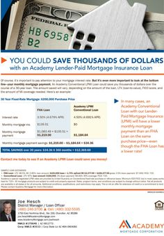 Academy Mortgage's 10% Down Jumbo Loan Program flyer. Loans up to $750,000 with 10% down may ...