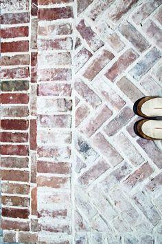 Bricks, Floors and Herringbone on Pinterest