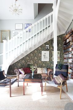 1000+ ideas about Wallpaper Stairs on Pinterest | Stair Risers, Stairs and Paint Stairs